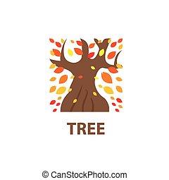 vector logo tree
