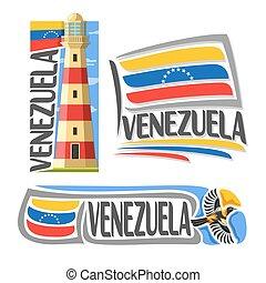 Vector logo Venezuela