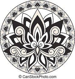 Vector Lotus Design Elements