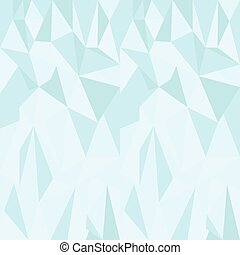 Vector low poly blue triangle background