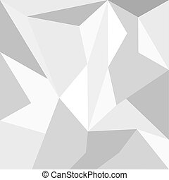 Vector low poly grey triangle background