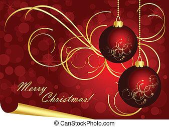 Vector luxury Christmas background