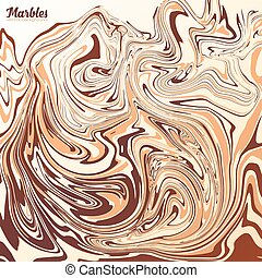 vector, mármol, capuchino, café, colores, plano de fondo