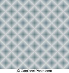(vector), métal, seamless, argenté, fond, géométrique
