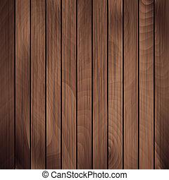 vector, madera, tablón