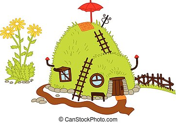 Vector Magic Forest House