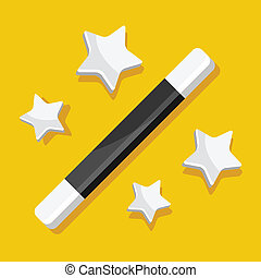 Vector Magic Wand Icon