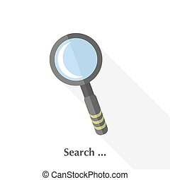 Magnifying Glass - Vector Magnifying Glass...
