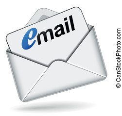 Vector mail 3d icon