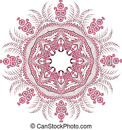 Vector Mandala Design