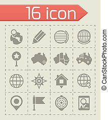 Vector Map icon set