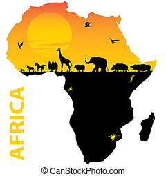Africa - vector map of Africa