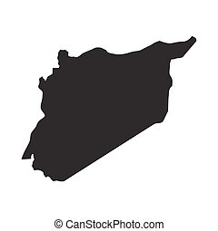 vector map of Syria