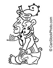 Vector Maya Image of the Deity