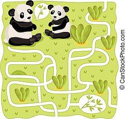 Vector Maze, Logic Game for Kids - Maze vector, maze game....