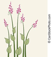 Vector meadow flowers