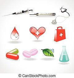 vector medical elements