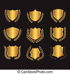 shields laurel wreaths collection