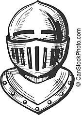medieval knight icon