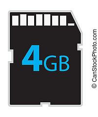 vector memory sd card