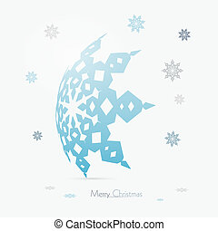Vector Merry Christmas Background
