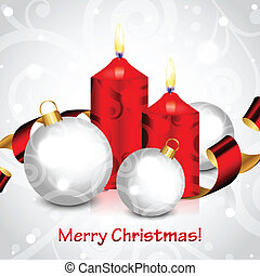 Merry Christmas background - Vector Merry Christmas ...