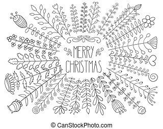 Vector Merry christmas Greetings