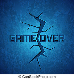 Vector Message: Game Over