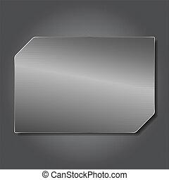 Vector Metal Plate