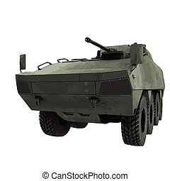 Vector military tank illustration