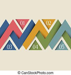 Vector minimal infographics design