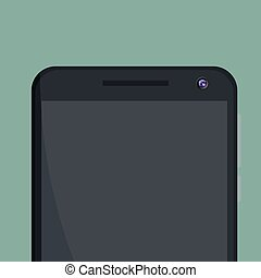 Vector mobile phone design