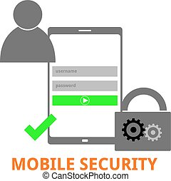 vector - mobile security