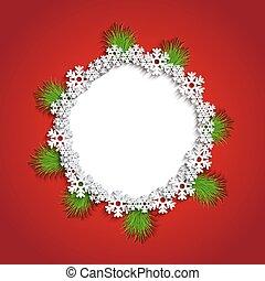 vector modern christmas background.