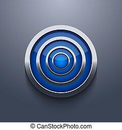 vector modern circle element design.