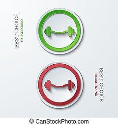 Vector modern circle icons