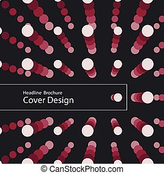 Vector Modern Design Circle Template