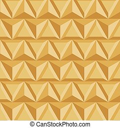 vector modern geometric triangle gold background
