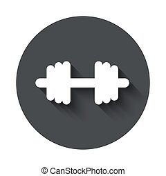 Vector modern  gray circle icon on white background
