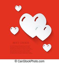 Vector modern love background. Eps 10