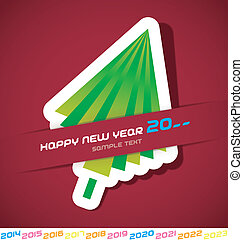 Merry Christmas & New Year Card