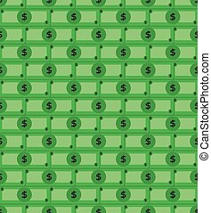 Vector money pattern