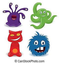 Vector Monsters