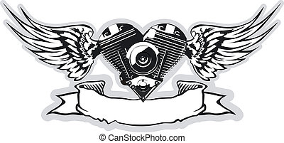 Vector Motorheart