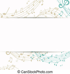 Vector Music Background