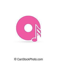 Vector music Icon.