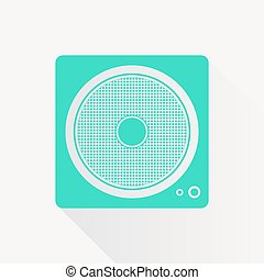 Vector music icon