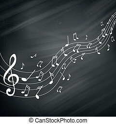 Vector Music Notes