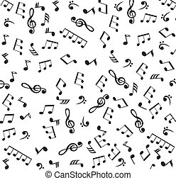 notes - vector musical notes