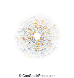 Vector nano texture color web